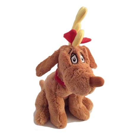 Dr. Seuss How The Grinch Stole Christmas Max Reindeer Kohls Plush Made by Kohls in 2010! Measures 12 inches tall.