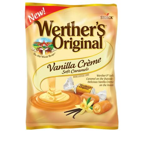 Caramel Vanilla Toffee - Storck Werther's Original Vanilla Crème Soft Caramels, 4.51 Oz.