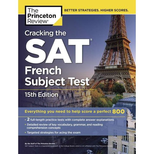 The Princeton Review Cracking the SAT French Subject Test