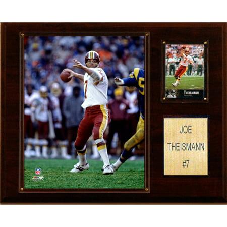 C&I Collectables NFL 12x15 Joe Theisman Washington Redskins Player Plaque