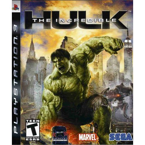 Sega The Incredible Hulk