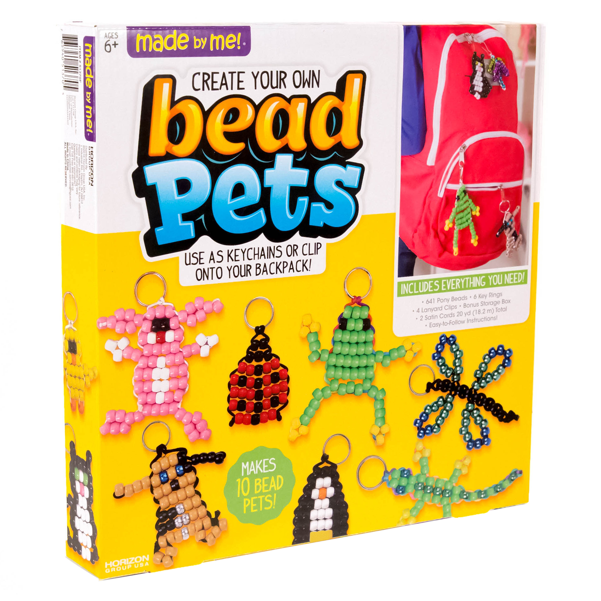 Made by Me Bead Pets by Horizon Group USA - Walmart.com 8a061db5fe