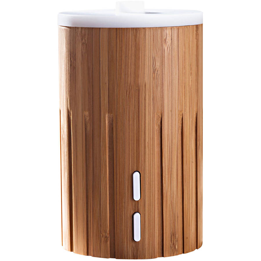 Zaq Bamboo Lite Mist Aromatherapy Wood Essential Oil Diffuser
