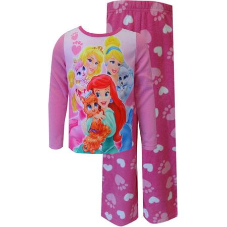 AME Sleepwear - Disney Princesses and Palace Pets Pink Toddler Pajamas -  Walmart.com 628169e47