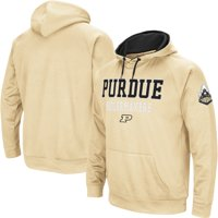 Purdue Boilermakers Colosseum Performance Pullover Hoodie - Gold