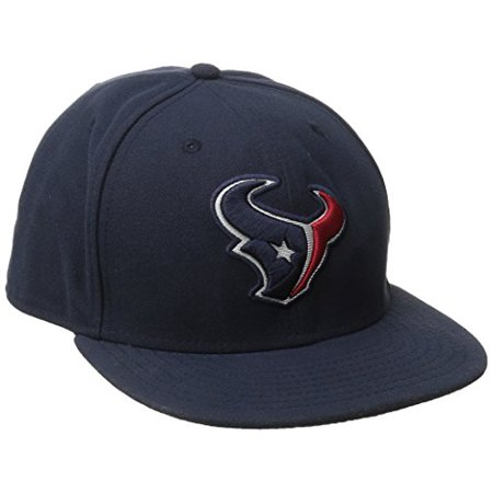 NFL Houston Texans On Field 5950 Game Cap, Navy, 8 - image 1 de 1