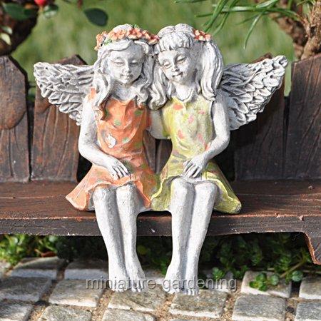 Friends Miniature (Miniature Fairy Best Friends for Miniature Garden, Fairy Garden )