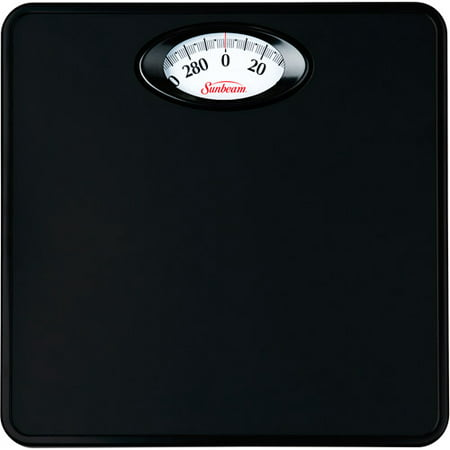 Sunbeam Rotating Dial Bathroom Scale, -