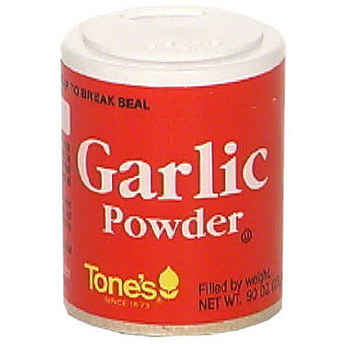 Tone's Granulated Garlic, 0.9 oz (Pack of 6)