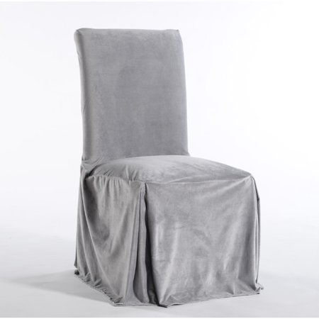 - Classic Slipcovers Royal Dining Chair Skirted Slipcover