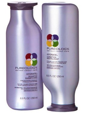 ($61 Value) Pureology Hydrate Shampoo & Conditioner Duo Set, 8.5 Fl Oz