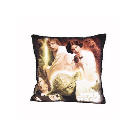 Disney Cushions (Disney Star Wars Decorative Cushion 16x16 )