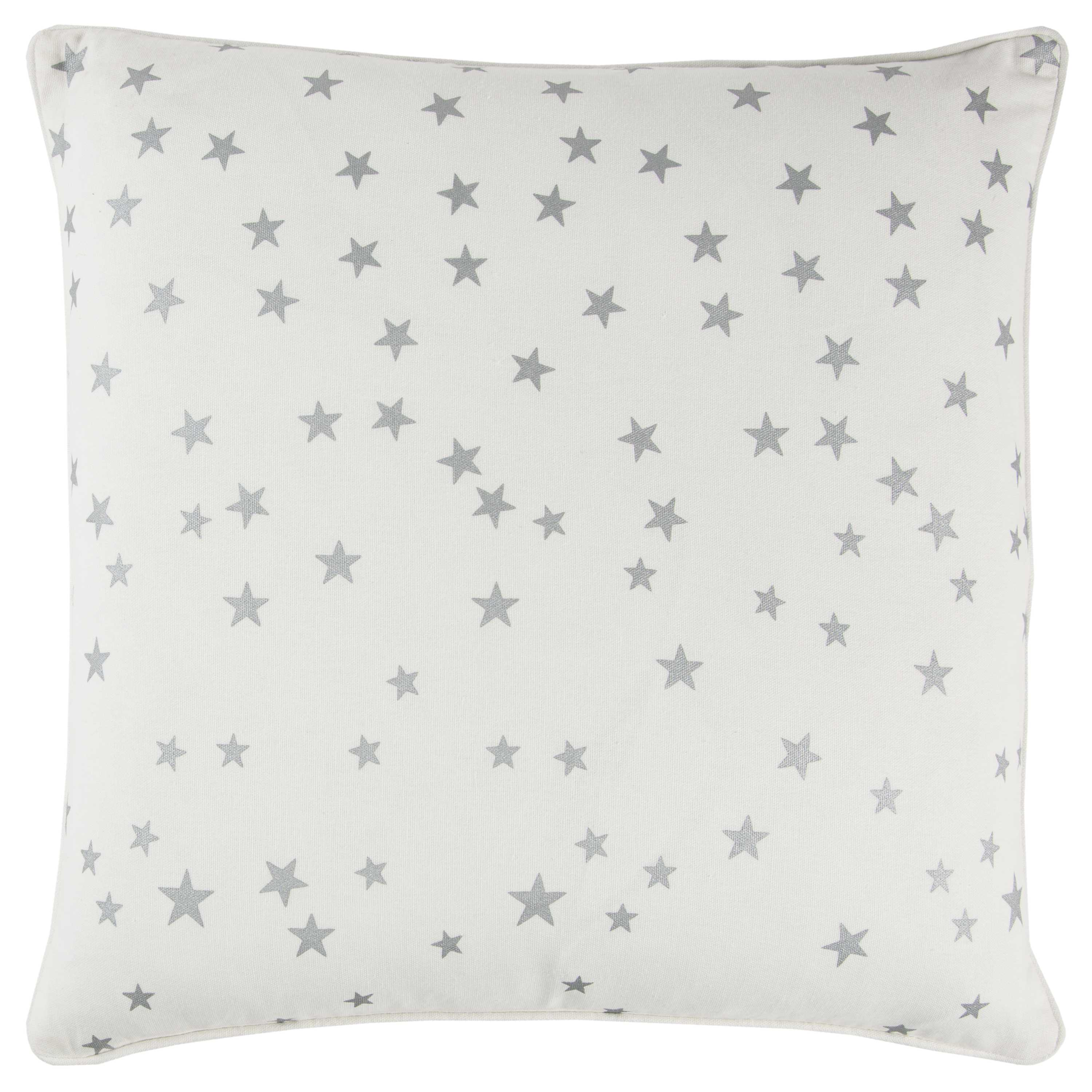 """Rizzy home T10892 20"""" x 20"""" ivory cotton duck decorative filled pillow"""