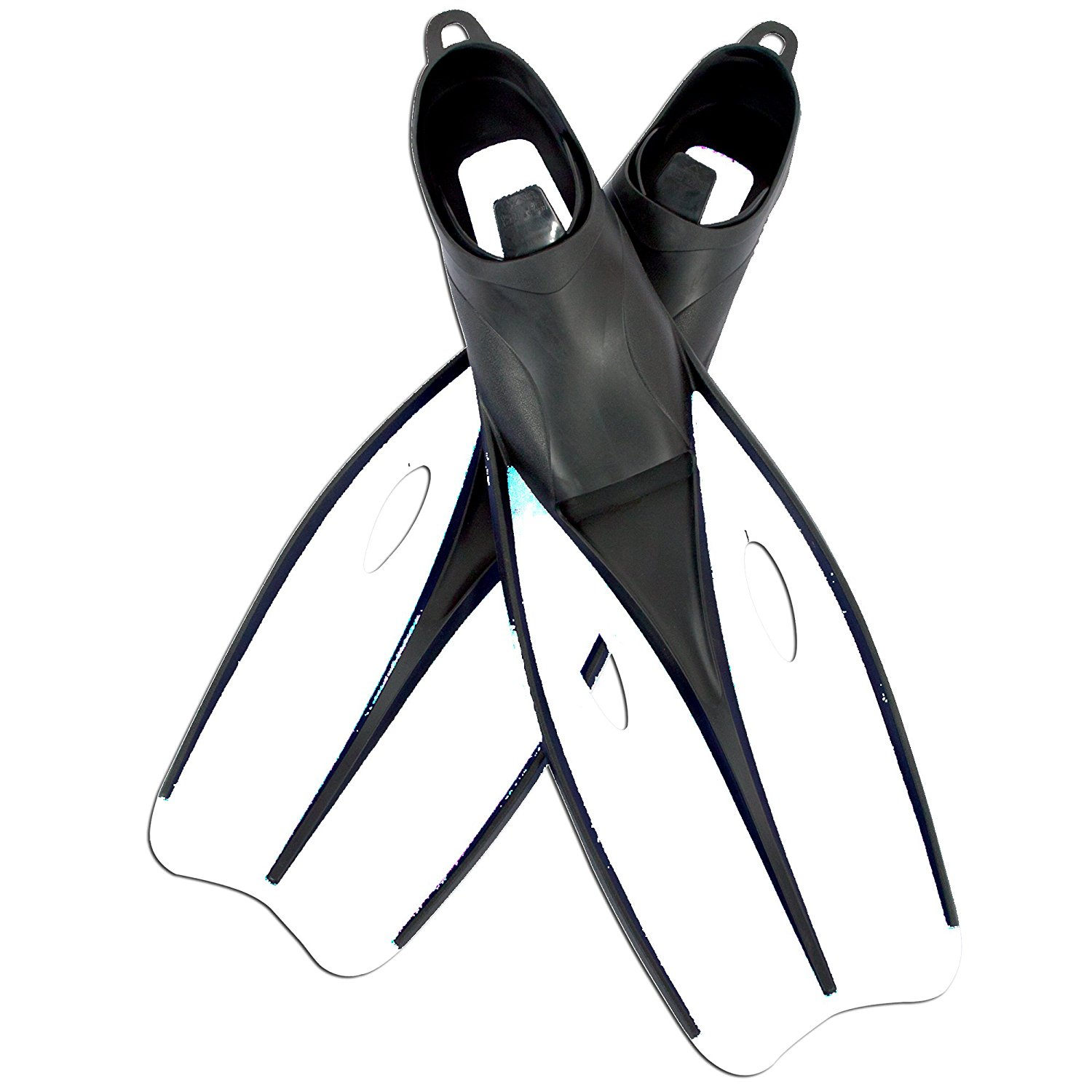 Scuba Dive Snorkeling Swimming Fins Flippers (Yellow), Fin Size: Large (US 8-9.5) By Endura
