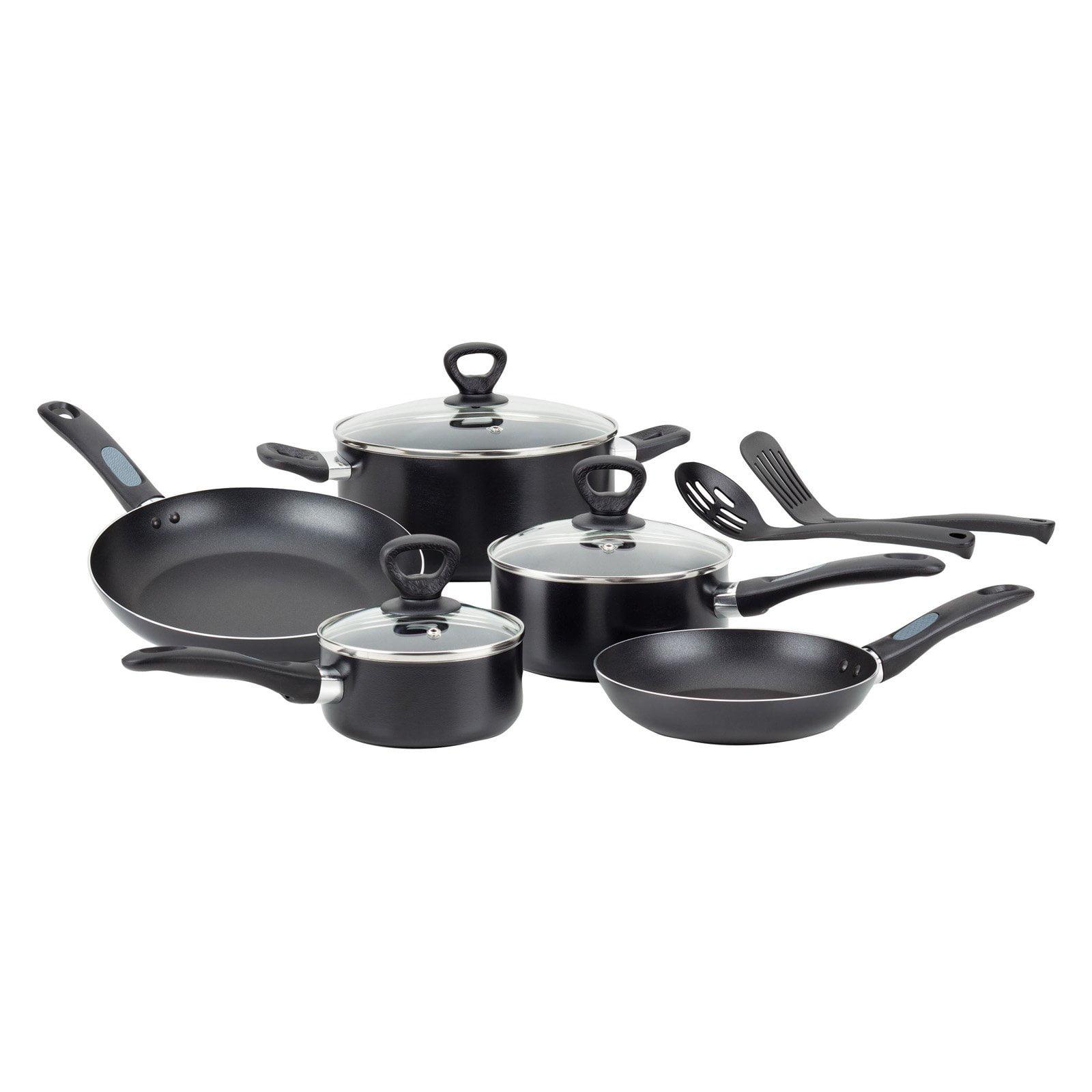 Mirro A797SA84 Get-A-Grip Nonstick 10-Piece Cookware Set