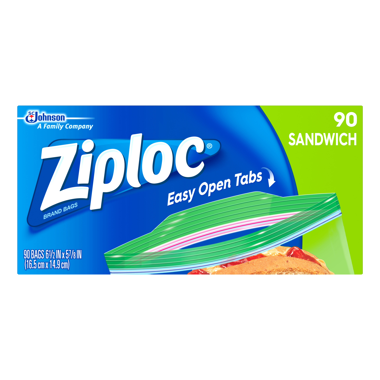 Ziploc Sandwich Bags 90 count