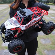 1:12 1:14 1:16 1:24 RC Alloy Monster Truck Car Off-Road Vehicle Remote Top Speed Control Four-wheel Drive Crawler For Boys Childs Kids Toys Gift