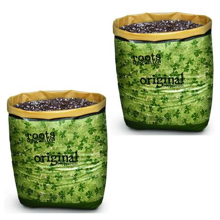 Roots Organics Gardening Coco Fiber-Based Potting Soil Bags | 0.75 cuft (2