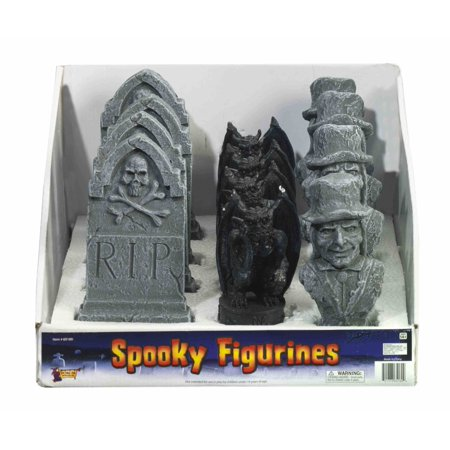 Halloween Spooky Polystone Graveyard 6