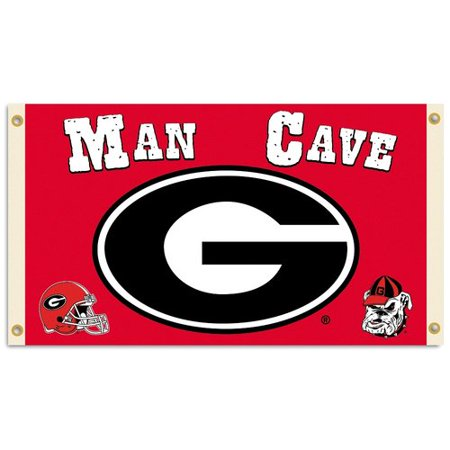 Ncaa Door Flag - Team Pro-Mark NCAA Man Cave 2-Sided Polyester 3 x 5 ft. Flag