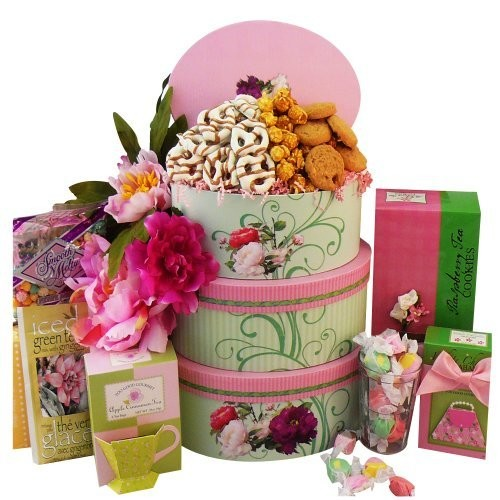 Art of Appreciation Gift Baskets Fanciful Flavors Gourmet Food and Snacks Gift Tower - fanciful-flavors-tower