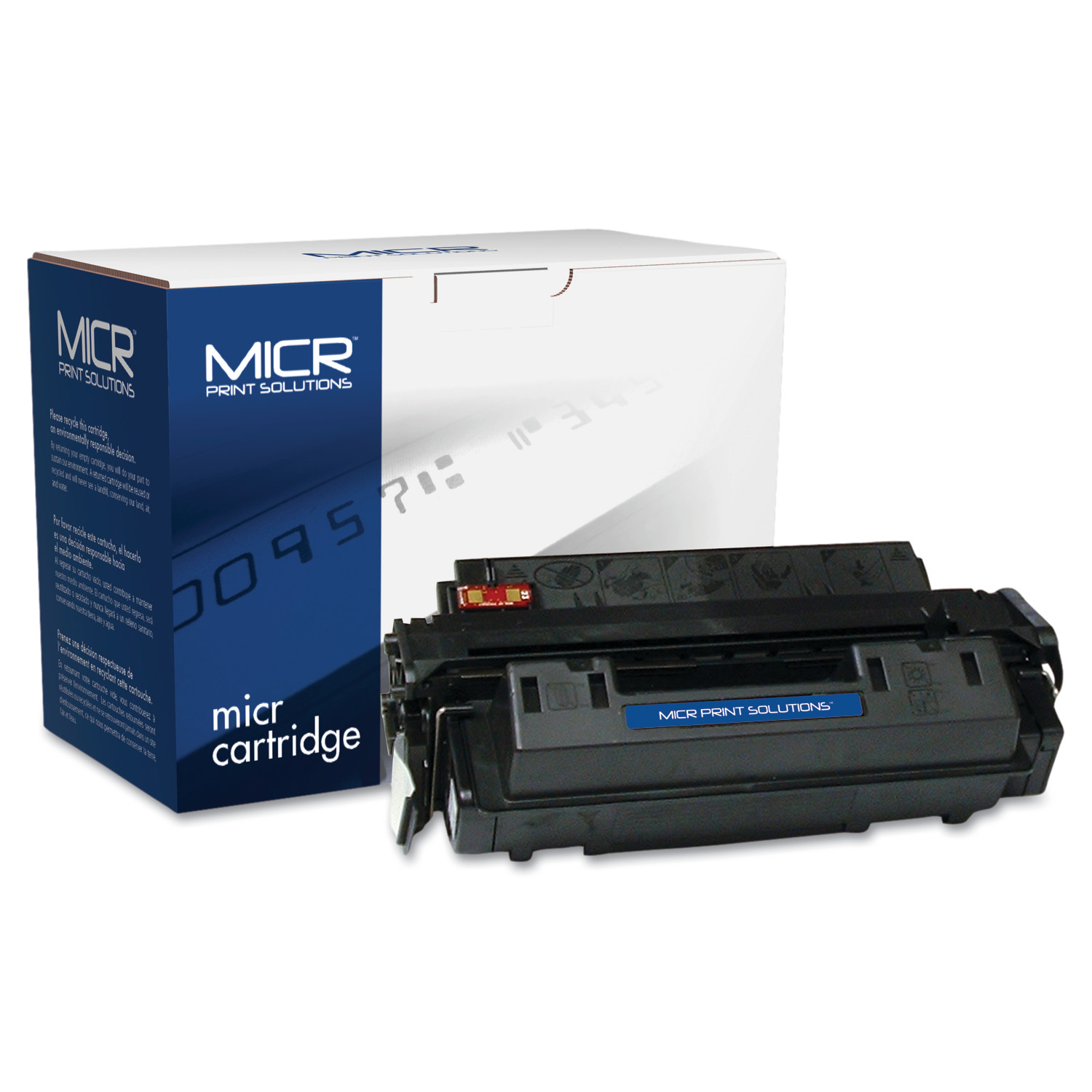 MICR Print Solutions Compatible with Q2610AM MICR Toner, 6,000 Page-Yield, Black