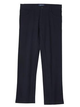 Cherokee Boys 4-18 School Uniform Modern Fit Stretch Twill 5 Pocket Pants