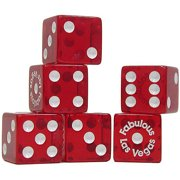 Trademark Poker 5 Piece Fabulous Las Vegas Dice