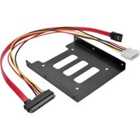 Tripp Lite 2.5 Inch SATA Hard Drive to 3.5 Inch Drive Bay Mounting Kit - Black
