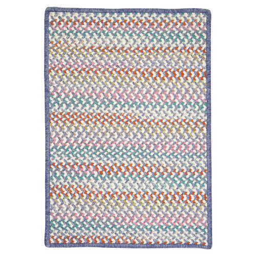 Colonial Mills Color Frenzy Tutu Purple Area Rug