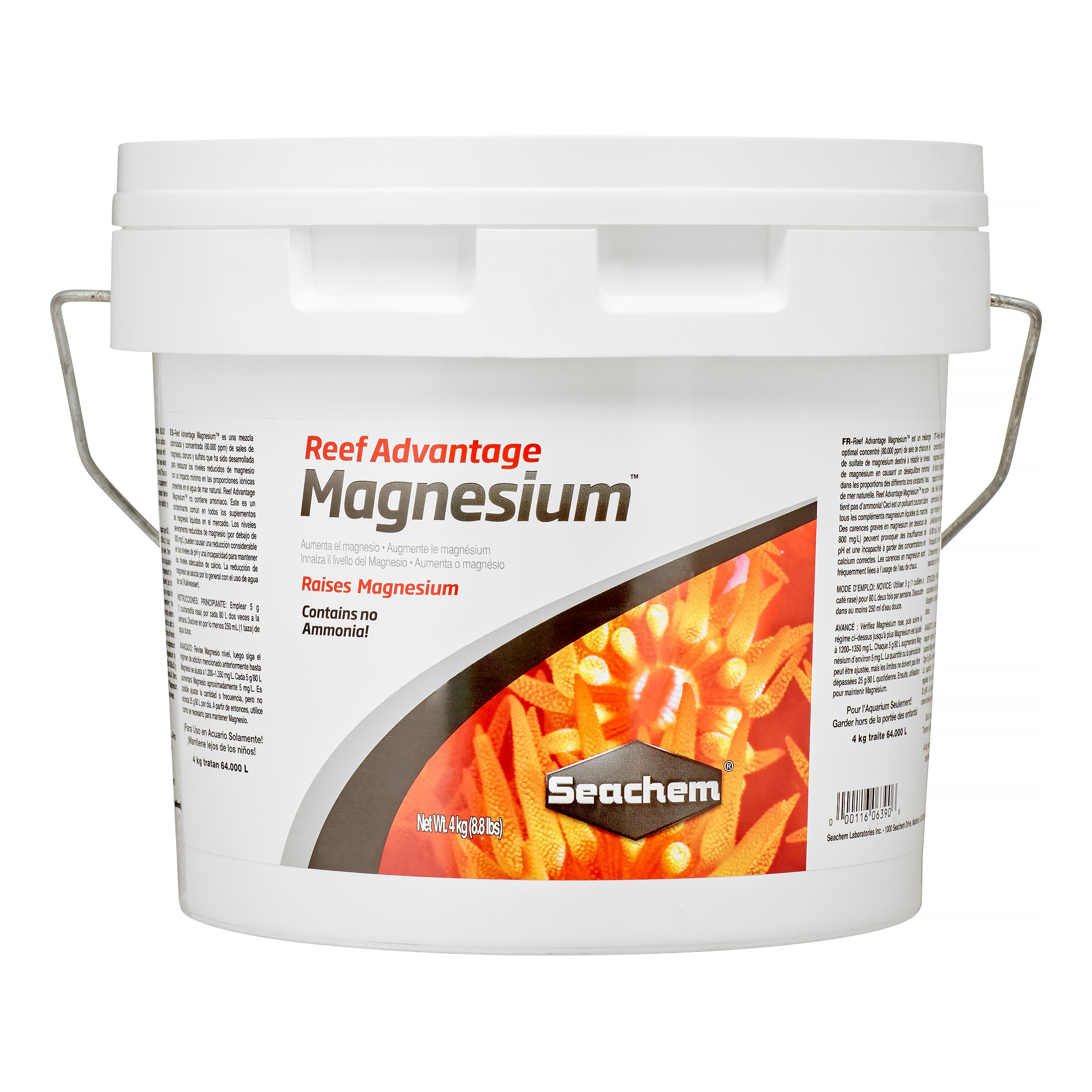 Seachem Reef Advantage Magnesium Fish & Aquatic Life Reef Water Treatment, 8.8 Lb