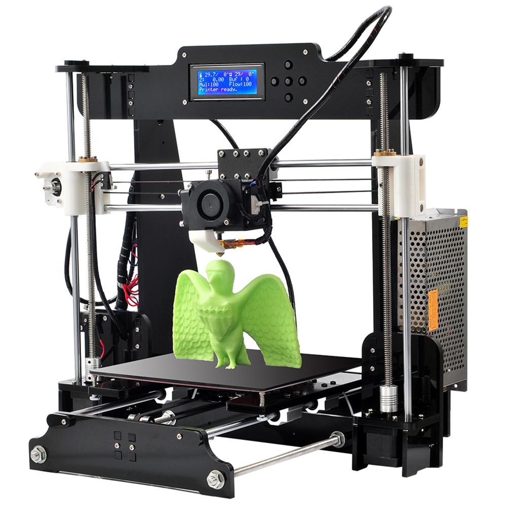 2019 Upgraded High Precision Anet A8 Reprap Prusa I3 DIY 3D Printer