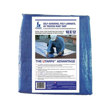 UTARPit 10 ft. x 12 ft. Blue Roofing Tarp