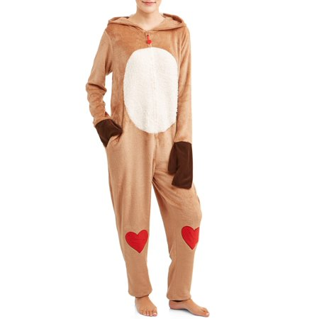 Rudolph Women's and Women's Plus Superminky Union Suit