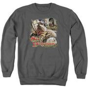 Labyrinth Sir Didymus Mens Crewneck Sweatshirt