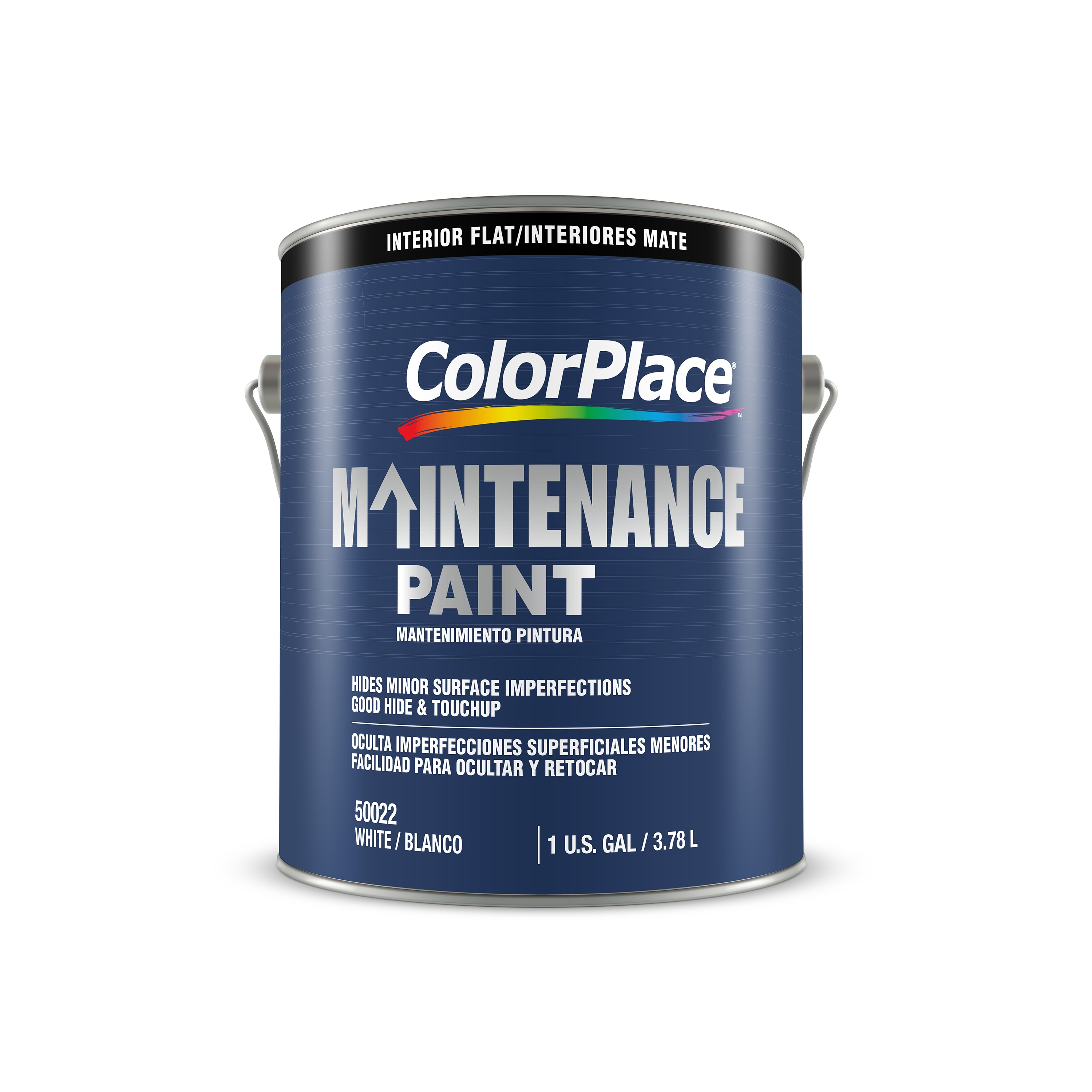 Color Place Maintenance Interior Flat White 1-Gal