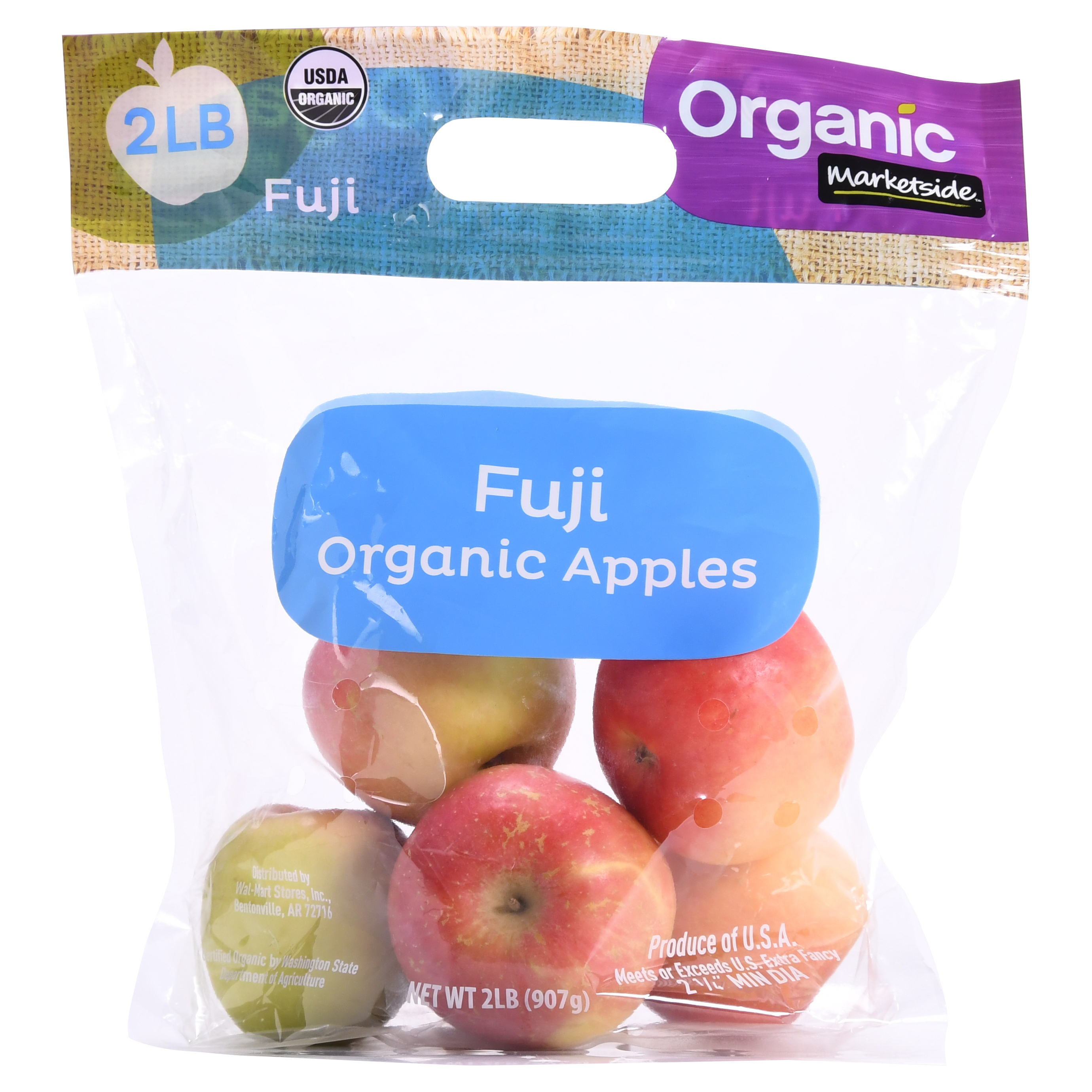 Marketside Organic Fuji Apples, 2 lb