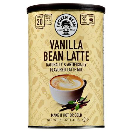 Frozen Bean Vanilla Bean Latte Deluxe Drink Mix, 21 oz
