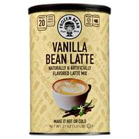 Frozen Bean Vanilla Bean Latte Deluxe Frappe Coffee Mix, 21 Oz