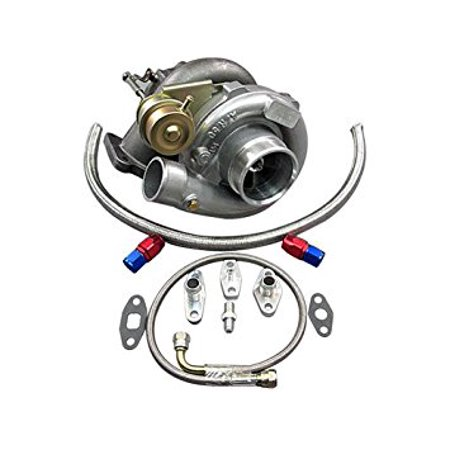 T61 Turbo Charger + Oil Kit Toyota 86-92 Supra MK3 7MGTE