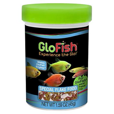 Special Fish (GloFish Special Flake Food, 1.59 oz (pack of 1) )