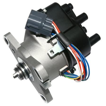 Brand New Compatible Ignition Distributor w/ Cap & Rotor 606-58902 30100-P73-A02 for 1996-2001 Honda Acura B16A B16A2 B18C DOHC VTEC ECC3003 31-17408 8417408 185-5006 TD-81U Acura B16a B18c Vtec Valves