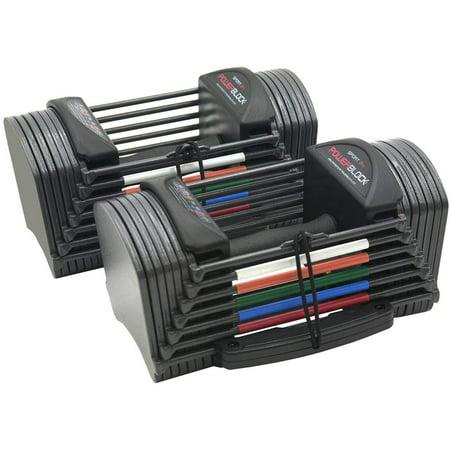 PowerBlock Sport 24 Adjustable Dumbbells (2020 model)