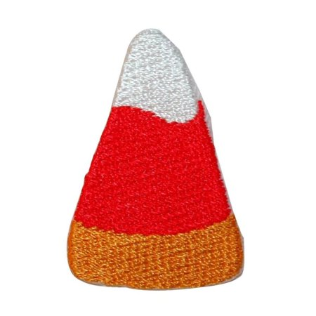 Halloween Crafts And Treats (ID 0848 Candy Corn Patch Halloween Trick or Treat Embroidered Iron On)