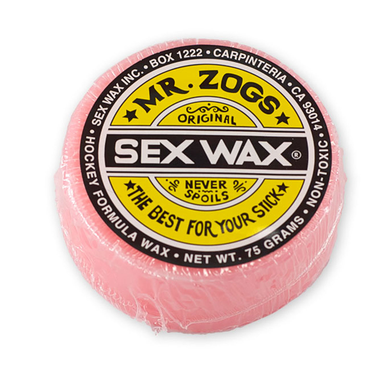 Sex Wax HOCKEY STICK WAX PINK Mr. Zogs PACK OF 2 by