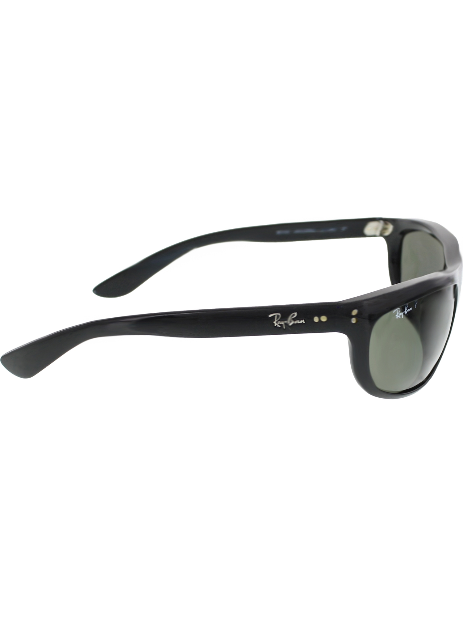d869f07f03218 Ray-Ban Men s Polarized Balorama RB4089-601 58-62 Black Rectangle  Sunglasses zoomed image