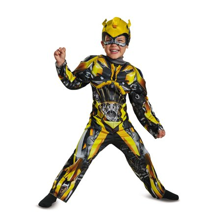 Transformers - Bumblebee Toddler Muscle Costume - Raggedy Andy Costume Toddler