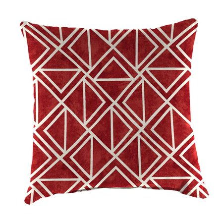Jordan Manufacturing 9950pk1 5130d 18 In Square Outdoor Toss Pillow 44 Lanova Apple Walmart Com Walmart Com