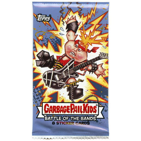 Garbage Pail Kids Series 2 Battle of the Bands Trading Sticker Card (Garbage Pail Kids Cards)