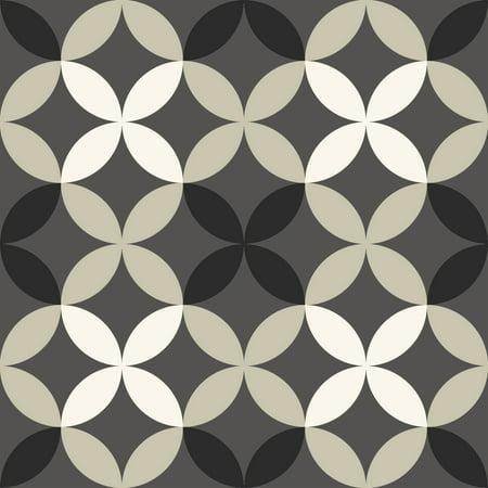 FloorPops Clover Peel & Stick Floor Tiles 10 Tiles/10 sq. ft.